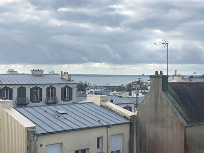 BREST-ST Marc-Vue mer-Appartement  de Type 4-85 m2+garage